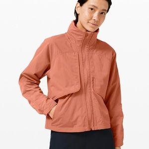 Lululemon Always Effortless Jacket - Rustic Coral